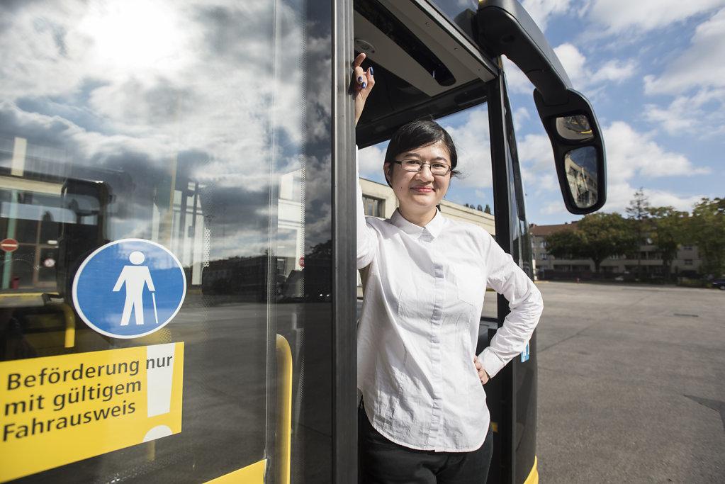 Busfahrerin