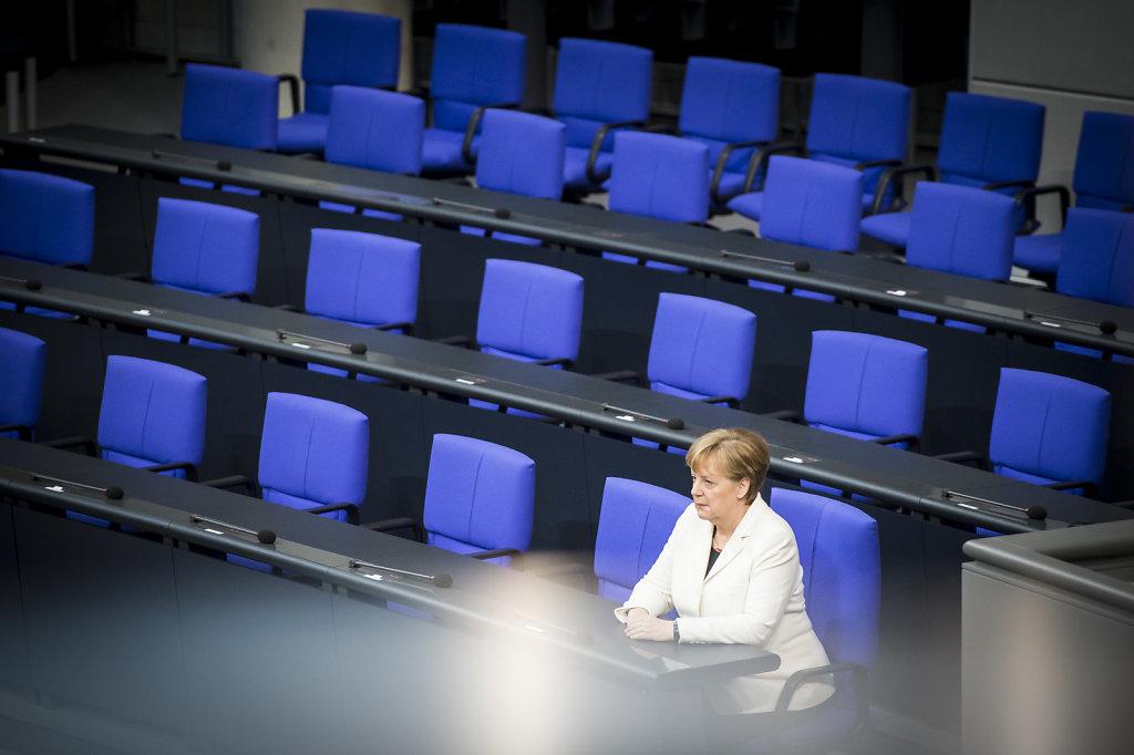 Vereidigung Bundeskanzlerin und Minister